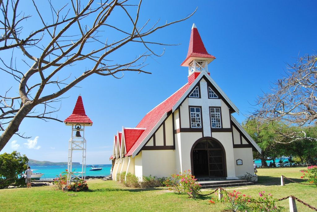 cap malheureux church North of Mauritius